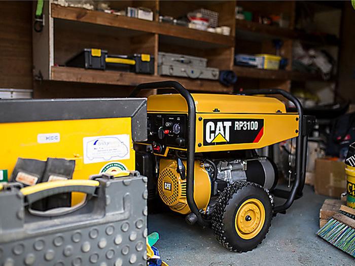 stoccaggio generatore portatile CAT RP3100