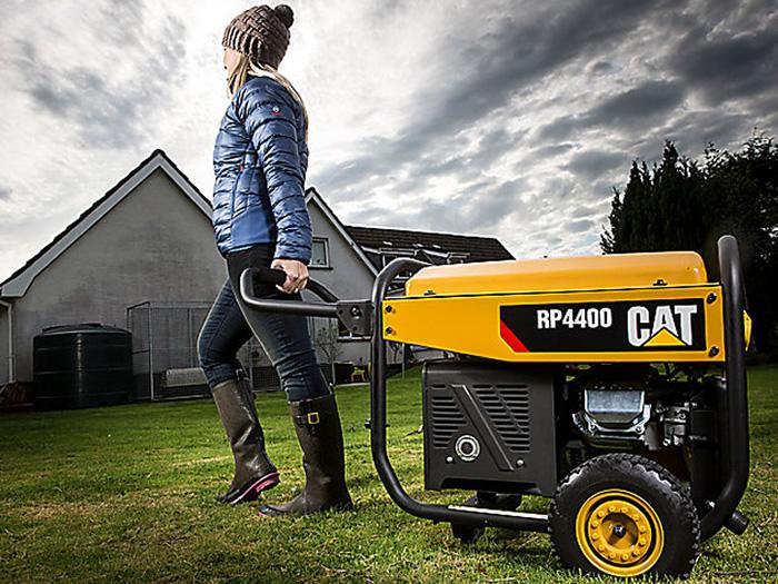 stoccaggio generatore portatile CAT RP4400