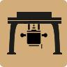 icona fresatrice da banco Klein