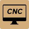 icona fresatrice CNC Klein