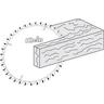 icona taglio fibre minerali Klein