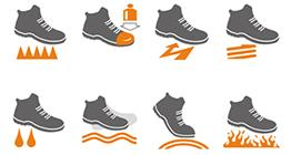 Icone scarpe Beta 7353Y