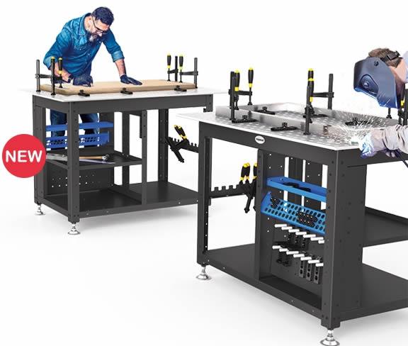 Siegmund Workstation piano di lavoro
