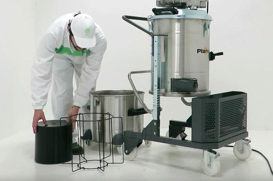 installazione kit galleggiamento aspiratore planet 300S/C