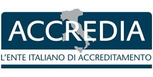 certificazione ACCREDIA logo