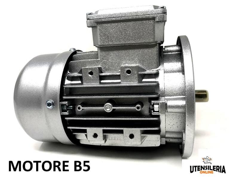 MOTORE ELETTRICO ASINCRONO MONOFASE HP 0,75-2800 GIRI