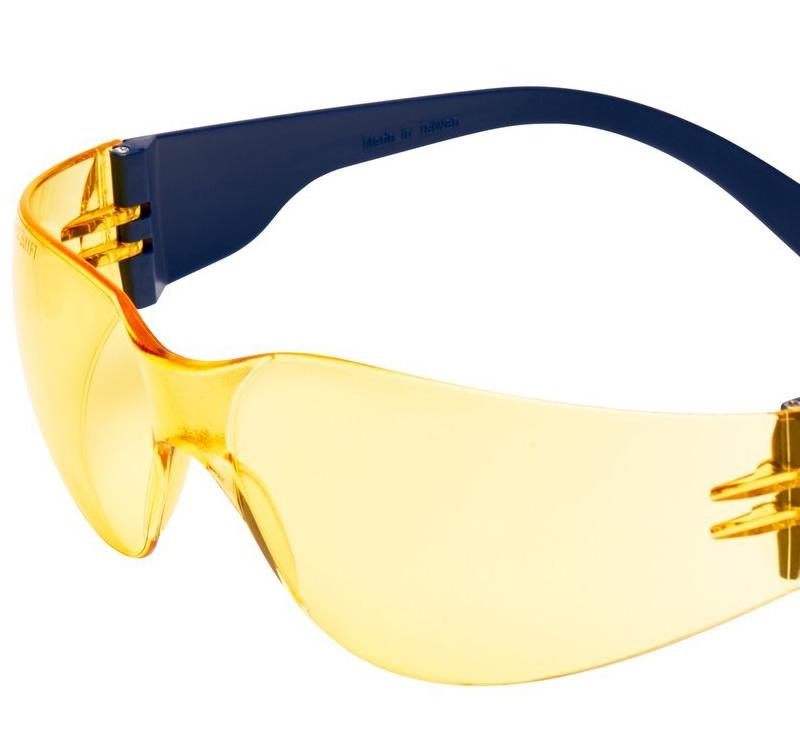 occhiali protettivi 3M lente gialla 2722