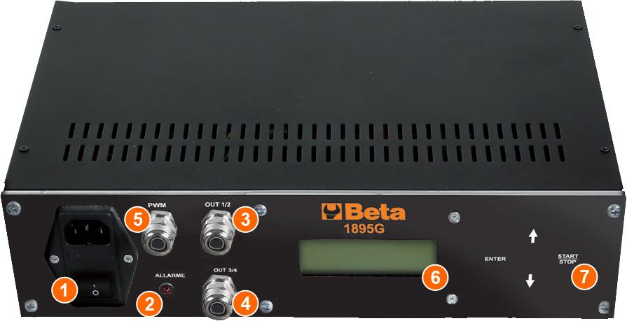 pannello di controllo generatore di comando Beta 1895G