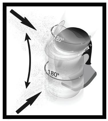 Protezione a 180° visiera Armadillo Glass