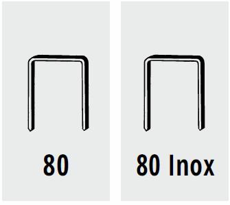 Punti per fissatrice pneumatica