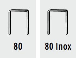 Punti fissatrice B 80 / CN 50 Barbero