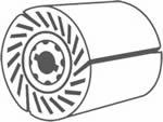 Dettaglio tecnico Rullo espansione POLY-PTX