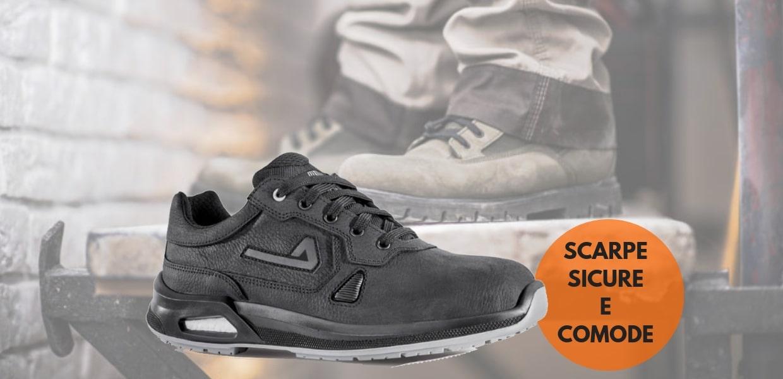 Calzature di sicurezza a marchio Cofra per la protezione dei piedi sugli ambienti di lavoro