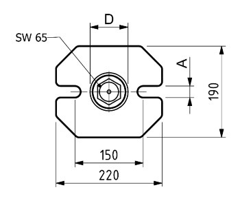 Scheda Tecnica Appoggi a vite tipo pesante SPD S131