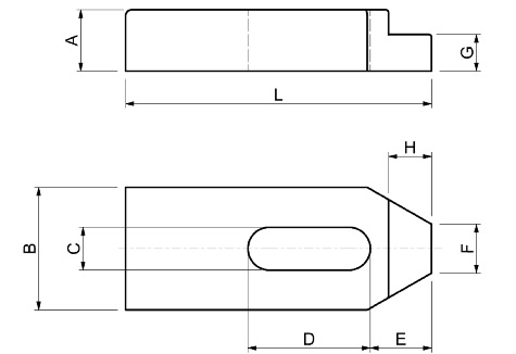 Scheda Tecnica Staffe semplici SPD S210