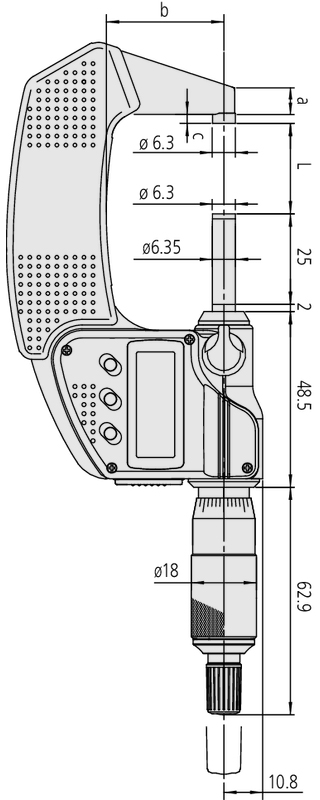 misure micrometro 293-231-30 Mitutoyo