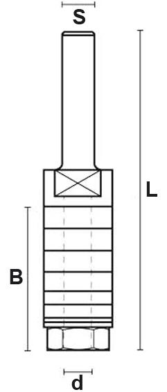 schema tecnico alberino portafrese Klein