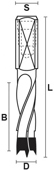 schema tecnico punte componibili Klein
