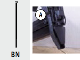 Groppini per fissatrice pneumatica