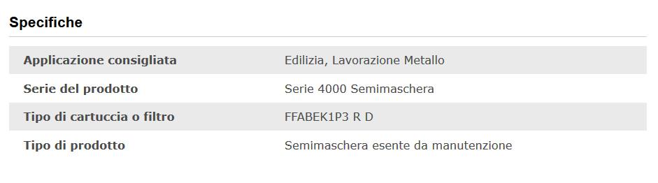 respiratore 4279 3M