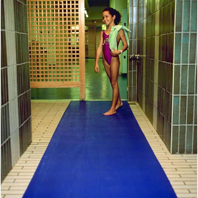 Tappeto antiscivolo piscine 3m1500 misure blu for Adesivi per piscine
