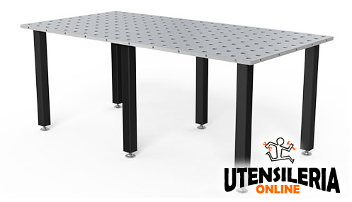 Tavolo saldatura 6 piedi modello basic 28 siegmund - Piedi per tavolo ...