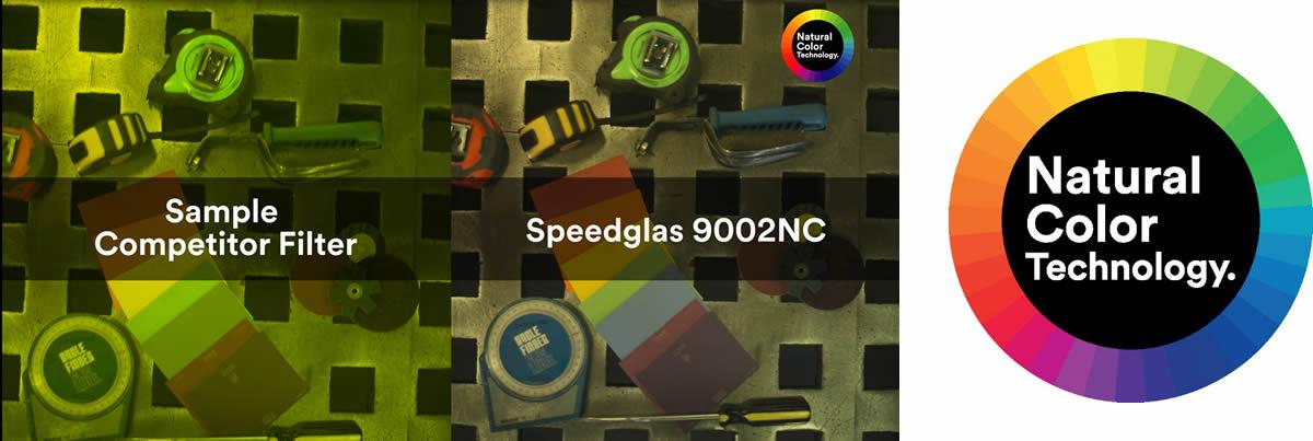 Tecnologia 3M natural color Speedglass