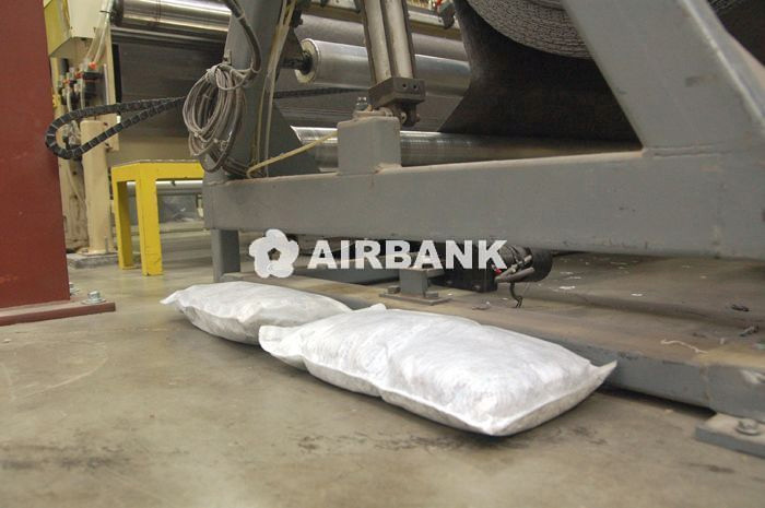 utilizzo panno assorbente Airbank