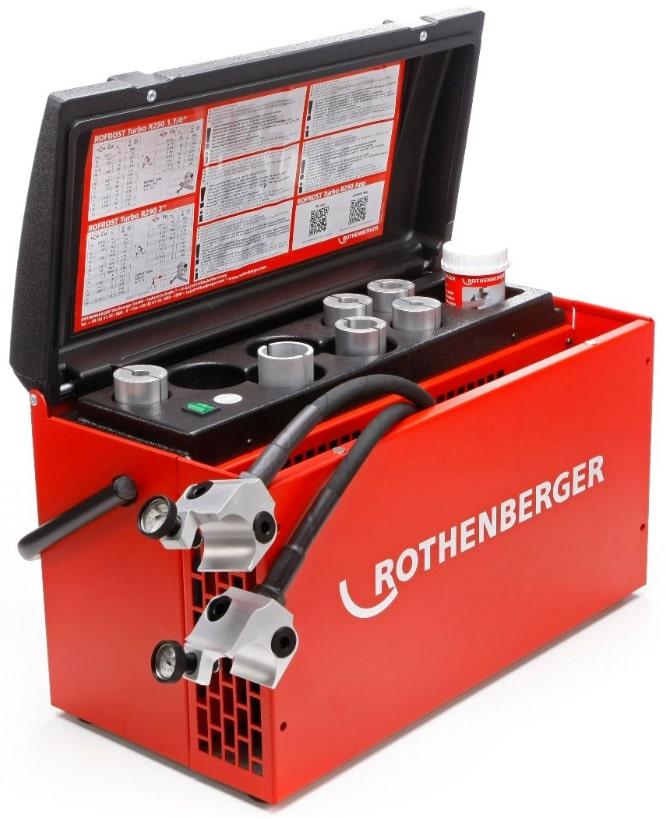 utilizzo unità congelante Rofrost Turbo R290 Rothenberger
