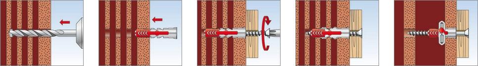 utilizzo tassello Duopower Fischer su materiali cavi